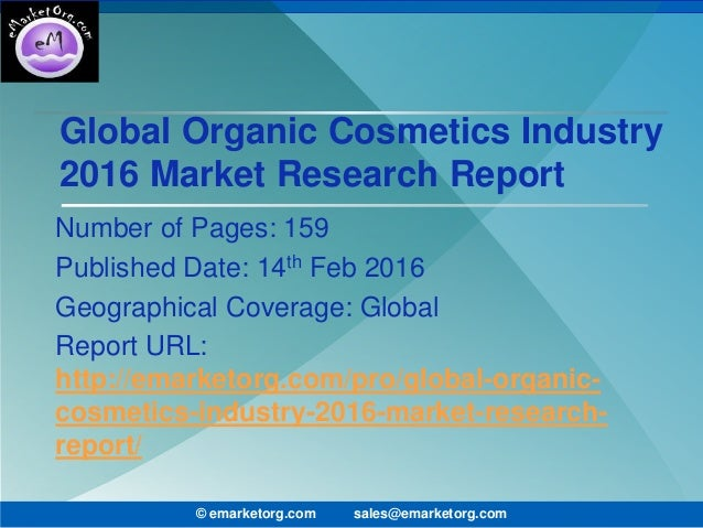 global cosmetic industries This report studies cosmetic industry in global market, especially in north america, china, europe, southeast asia, japan and india, with production, revenue, consumption, import and export.