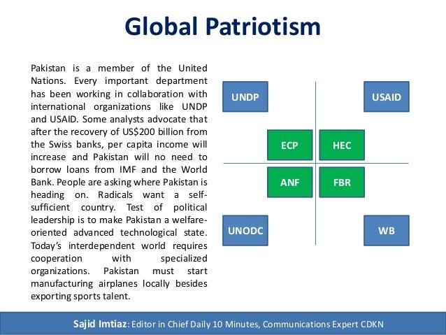 Global Patriotism