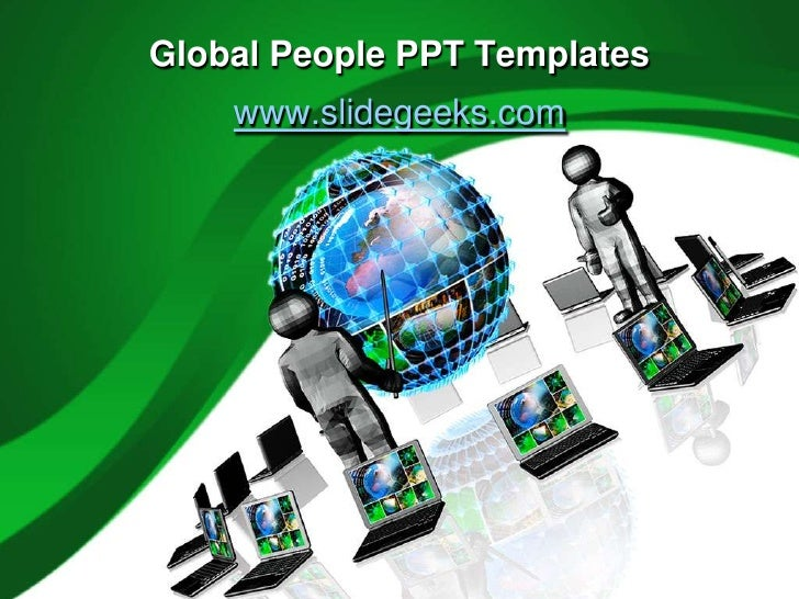 Global people ppt templates