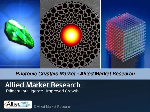 Global Photonic Crystals Market - Allied Market Research