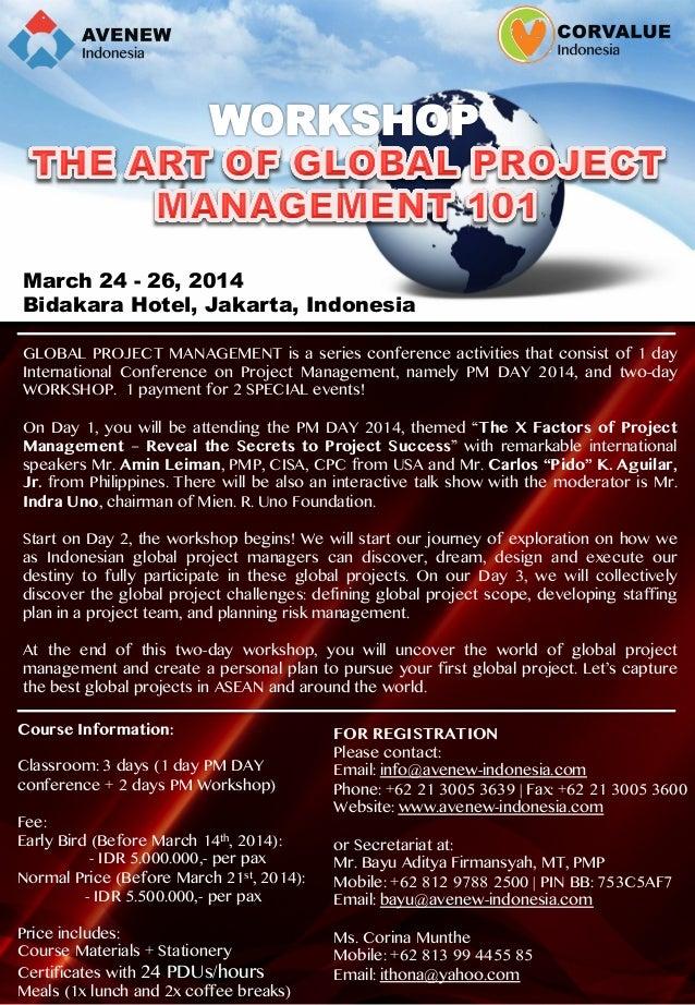 Global Project Management Workshop