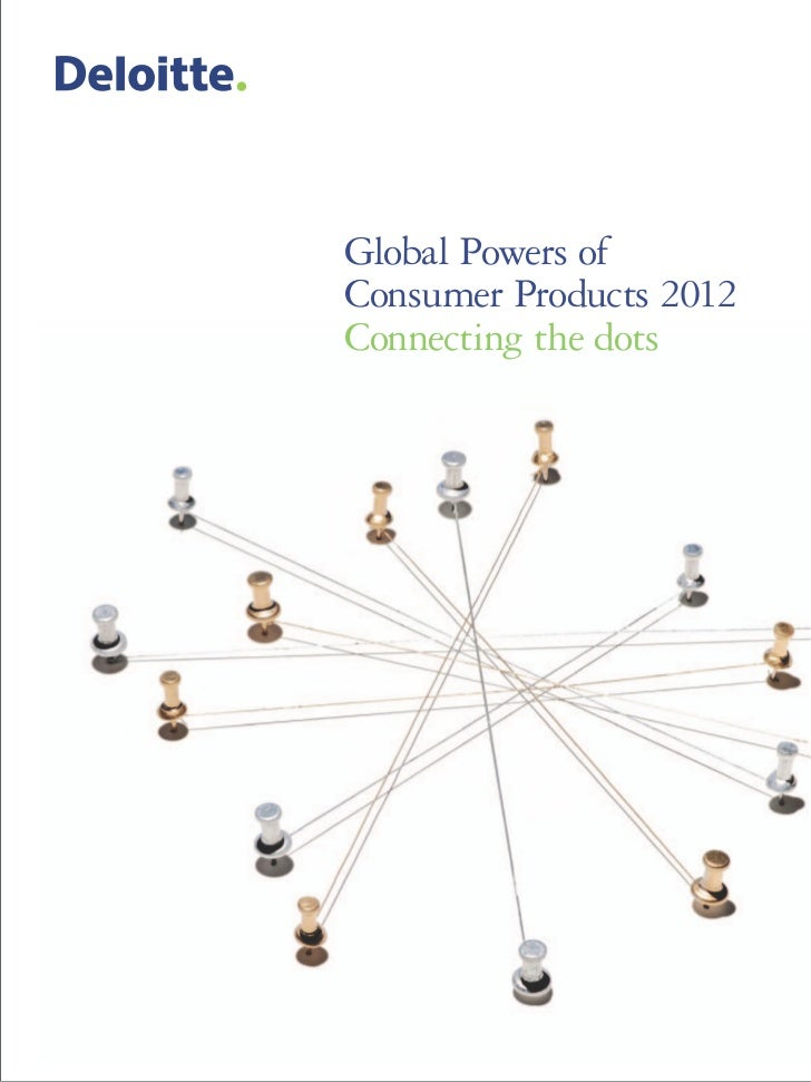 Global Powers ofConsumer Products 2012Connecting the dots