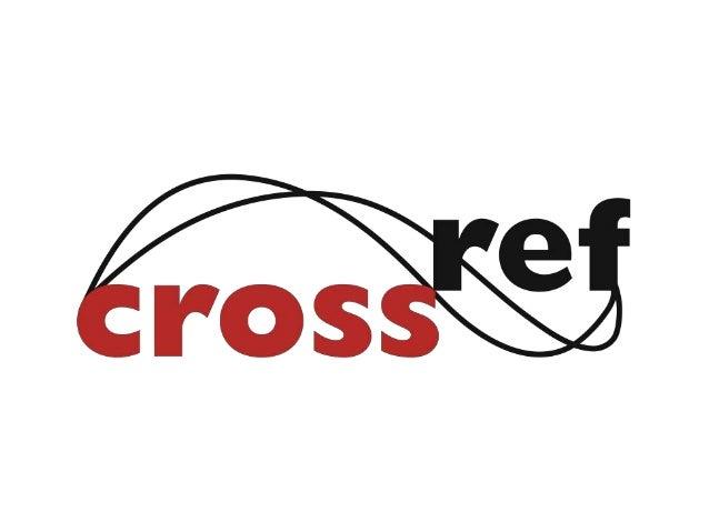 CrossRef - Global publishing panel 2012  (edilson damasio)