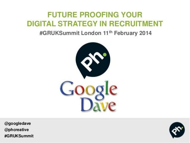 Future Proofing Digital Marketing in Recrutiment