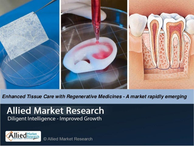 Enhanced Tissue Care with Regenerative Medicines - A market rapidly emerging