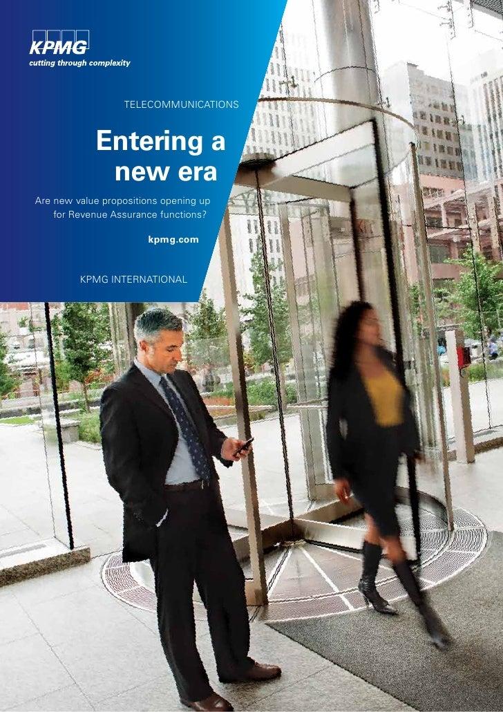 Global Revenue Assurance Survey 2012 – Entering A New Era