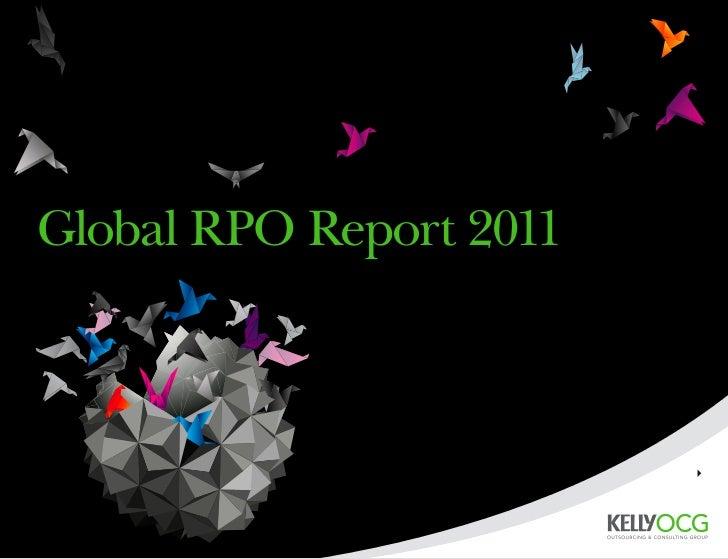 Global RPO Report 2011                         