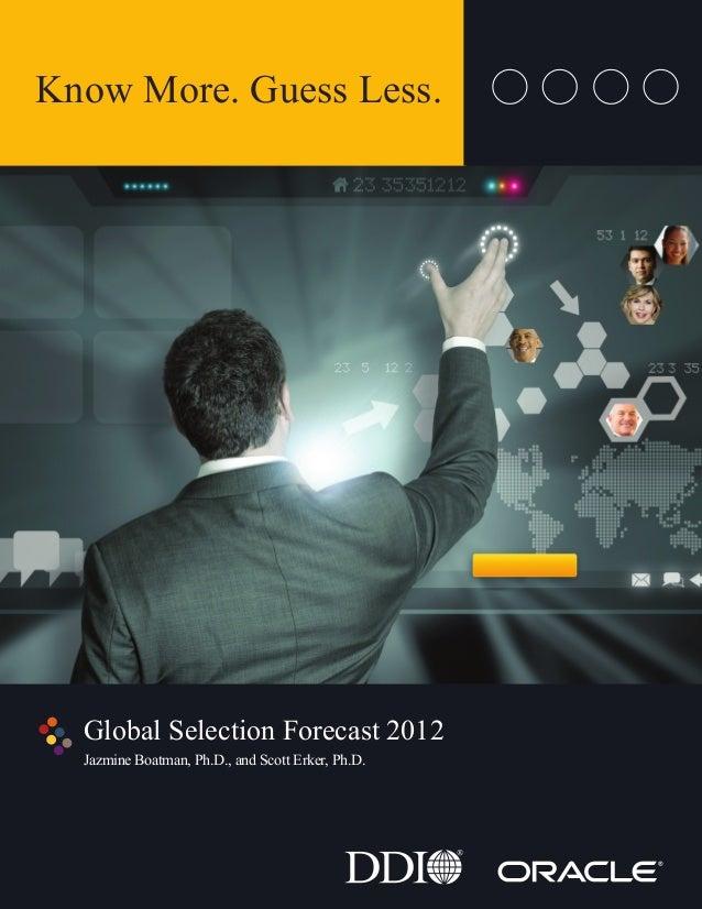 Globalselectionforecast2012 tr ddi
