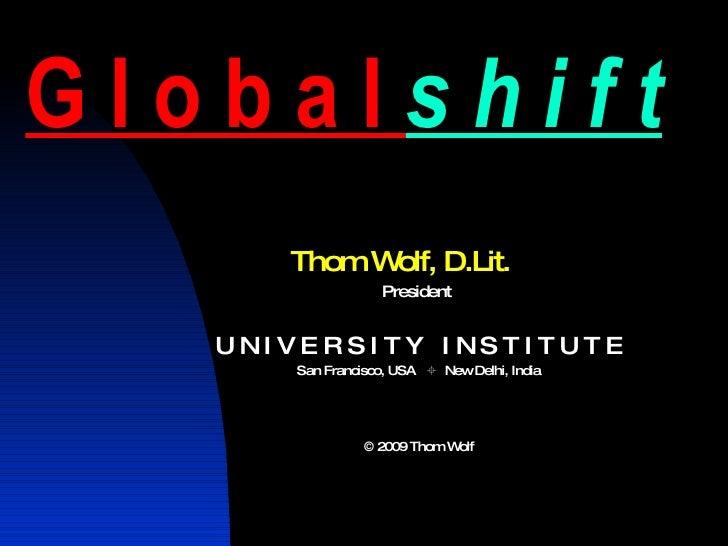 Globalshift 2009