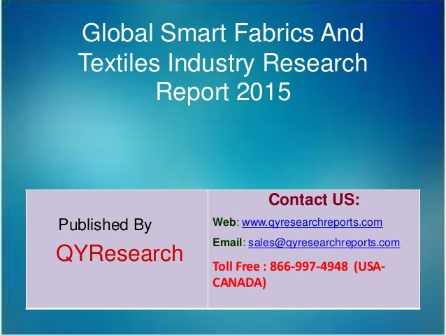 Research analysis textiles