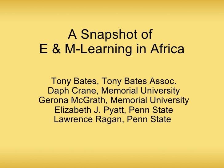 Global snapshot africa_slides