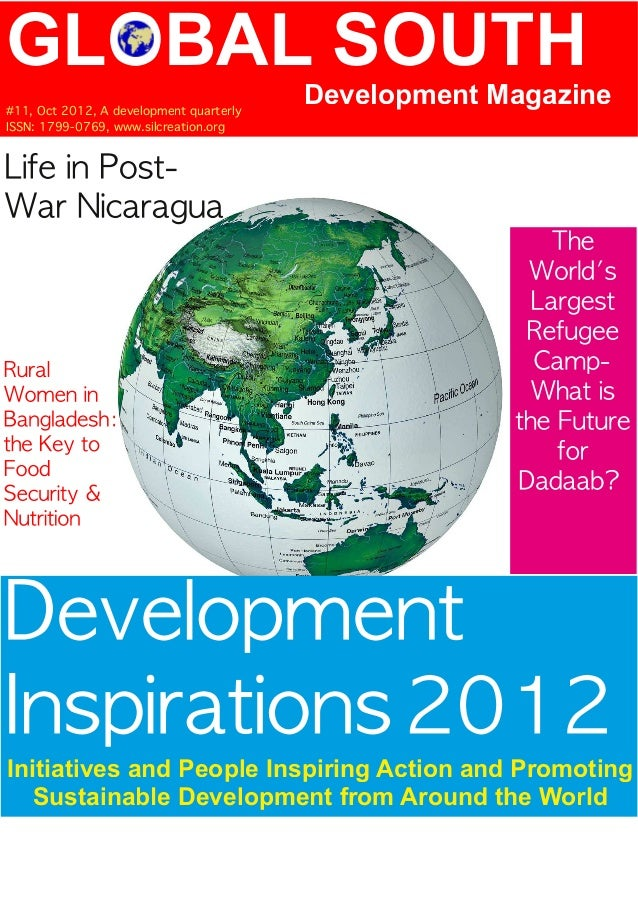 Global south development magazine October 2012