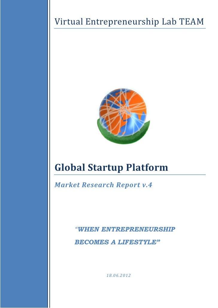 Global Startup Platform_Market Research Report_2012