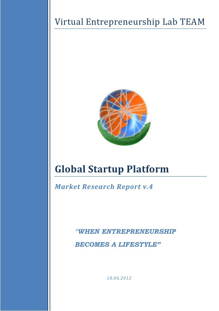 Global Startup Platform_Market Research Report_2012