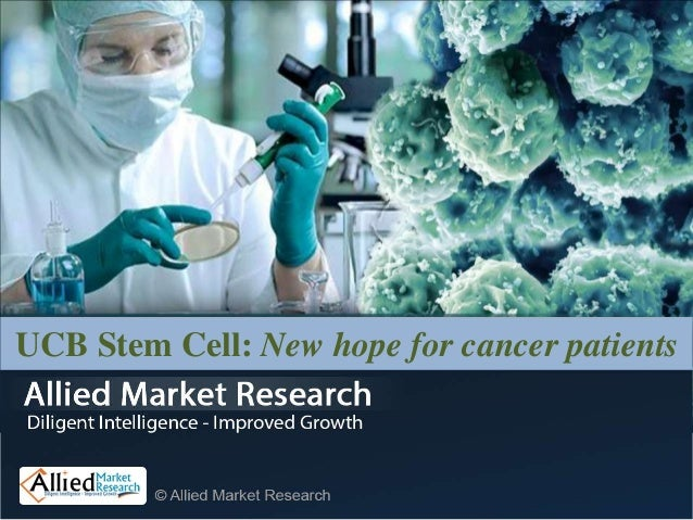 UCB Stem Cell: New hope for cancer patients
