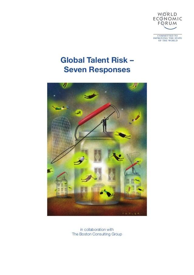 World Economic Forum Global Talent Risk