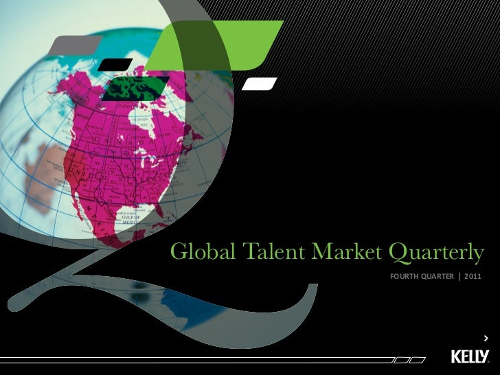 Global Talent Market Quarterly Q411 Final Interactive