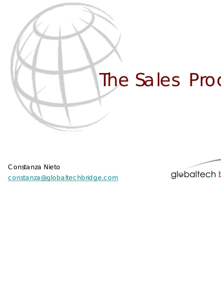 Globaltech - The Sales Process