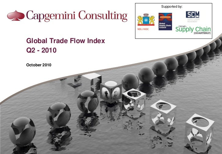 Supported by:Global Trade Flow IndexQ2 - 2010October 2010