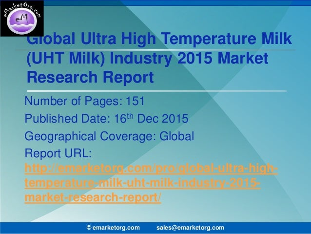 market survey uht milk market global The report provides a comprehensive analysis of the organic powdered milk industry market by types, applications, players and regions this report also displays the production, consumption, revenue, gross margin, cost, gross, market share, cagr, and market influencing factors of the organic powdered.