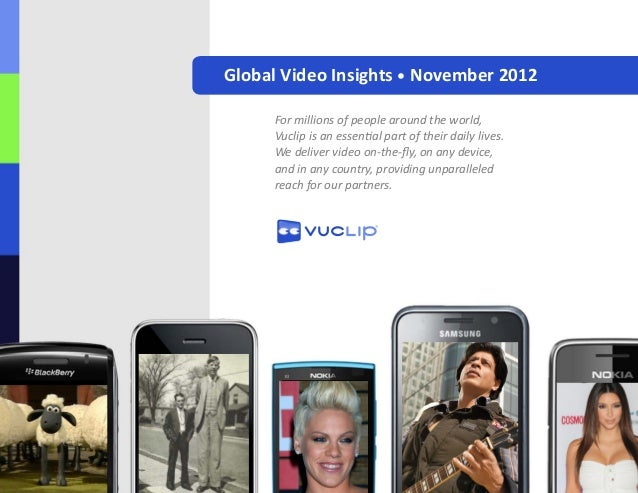 November 2012 Global Video Insights