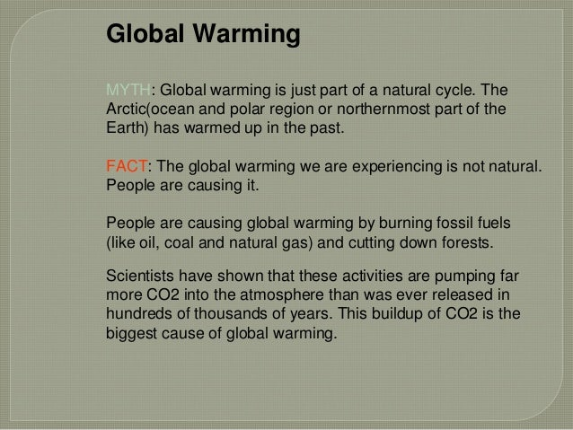 write short essay global warming
