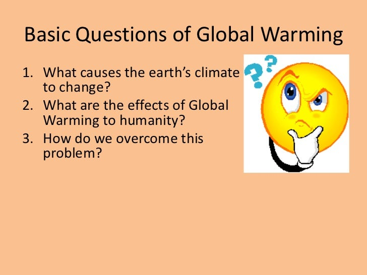 essays on causes and effects of global warming