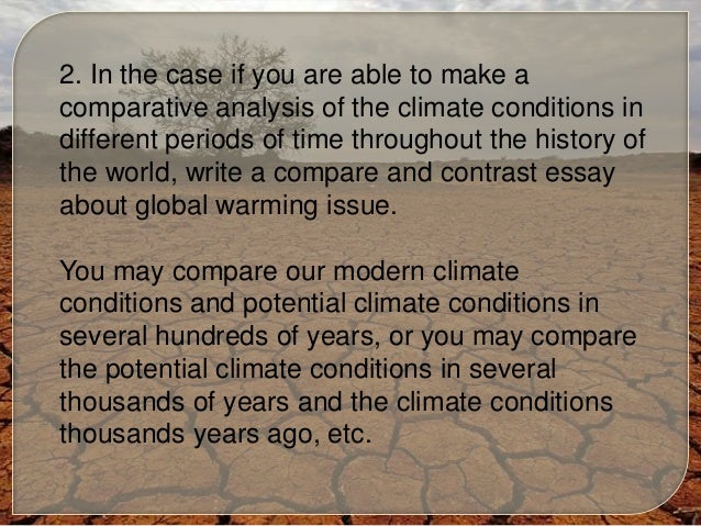 Write my global warming essay topics