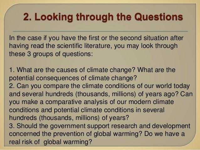 Argumentative Essay Global Warming
