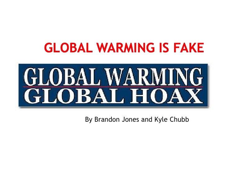 global warming is fake essay