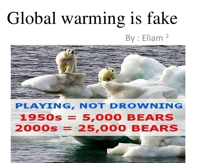 global warming real or fake essay