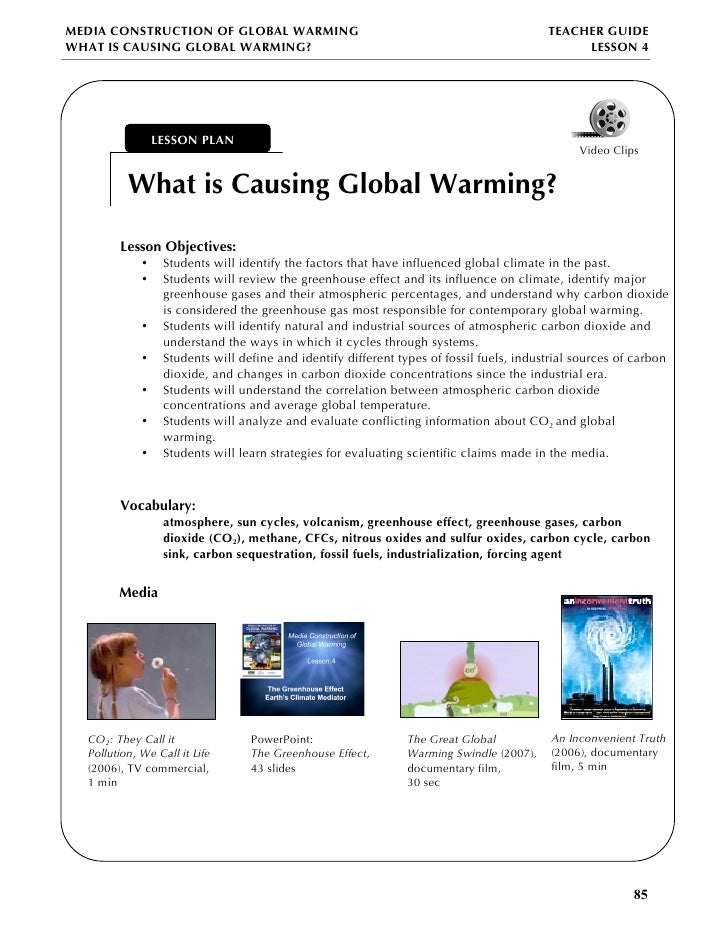 Essay Writing Global Warming