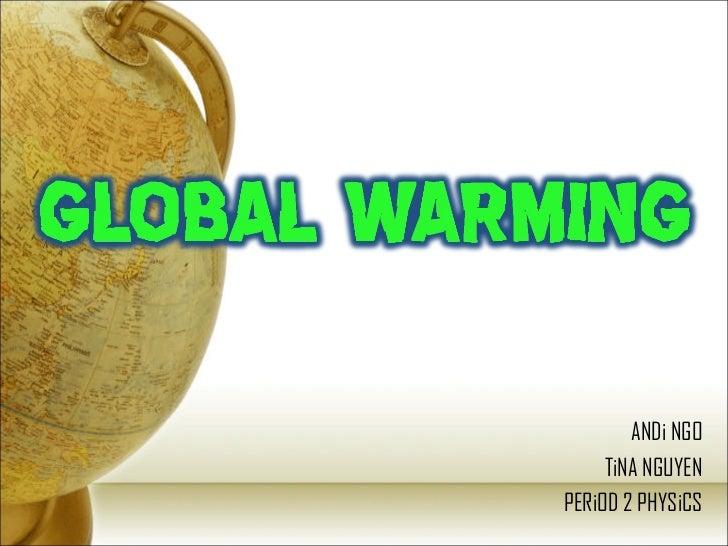 Global Warming P P T [97 03]