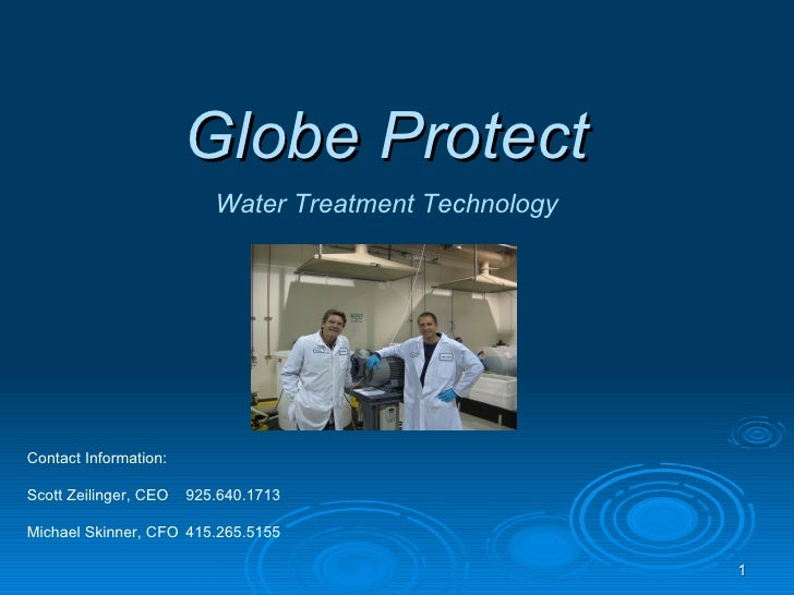 GlobeProtect.net MacroDynamics™ water treatment technology for solving water, waste, and CO2 problems