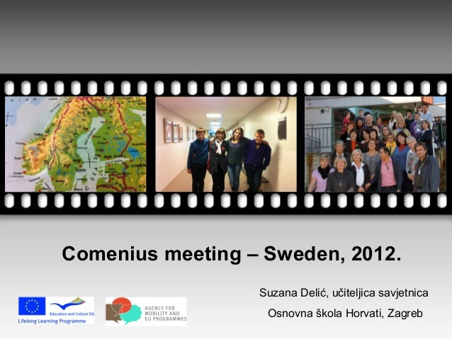 Comenius meeting – Sweden, 2012.