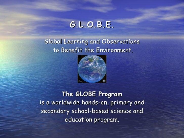 Globe power point