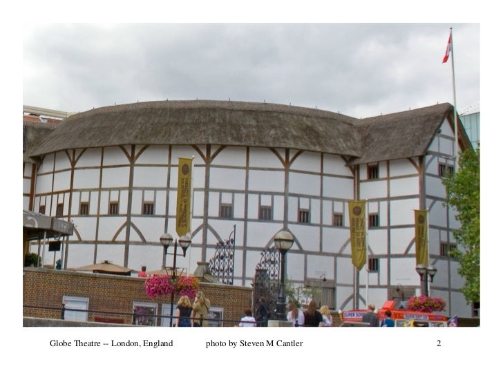 Globe Theatre -- London, England   photo by Steven M Cantler   2
