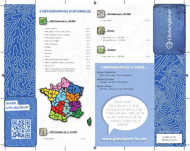 Z-CARD® Ltd. PTN information to go here YouToo SARL // 03-2014 CARTOGRAPHIES DISPONIBLES IGN France au 1 : 25 000 » Franc...