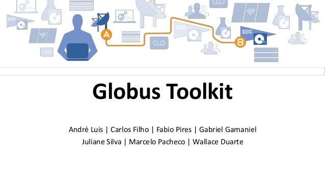 André Luis | Carlos Filho | Fabio Pires | Gabriel Gamaniel Juliane Silva | Marcelo Pacheco | Wallace Duarte Globus Toolkit