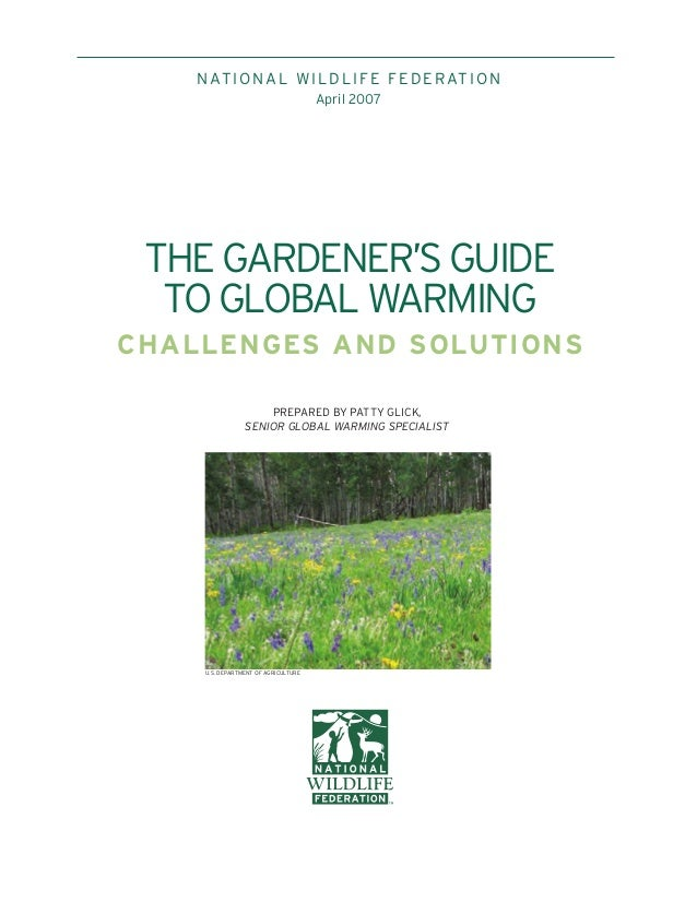 The Gardener's Guide to Global Warming: Challenges and Solutions