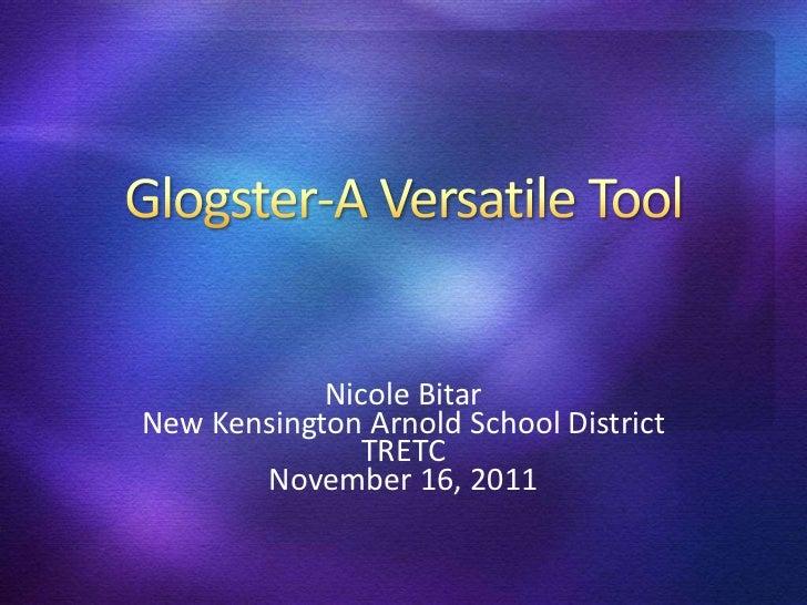 Nicole BitarNew Kensington Arnold School District               TRETC       November 16, 2011