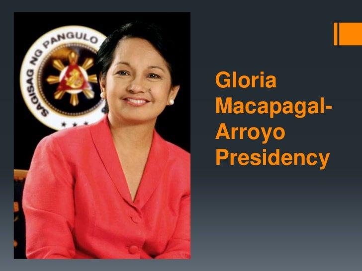 GloriaMacapagal-ArroyoPresidency