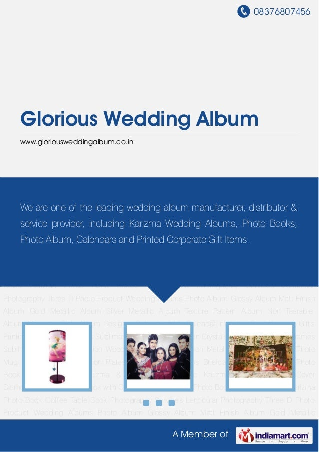 Glorious wedding-album