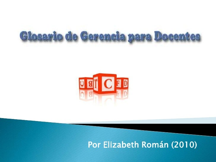 Por Elizabeth Román (2010)<br />