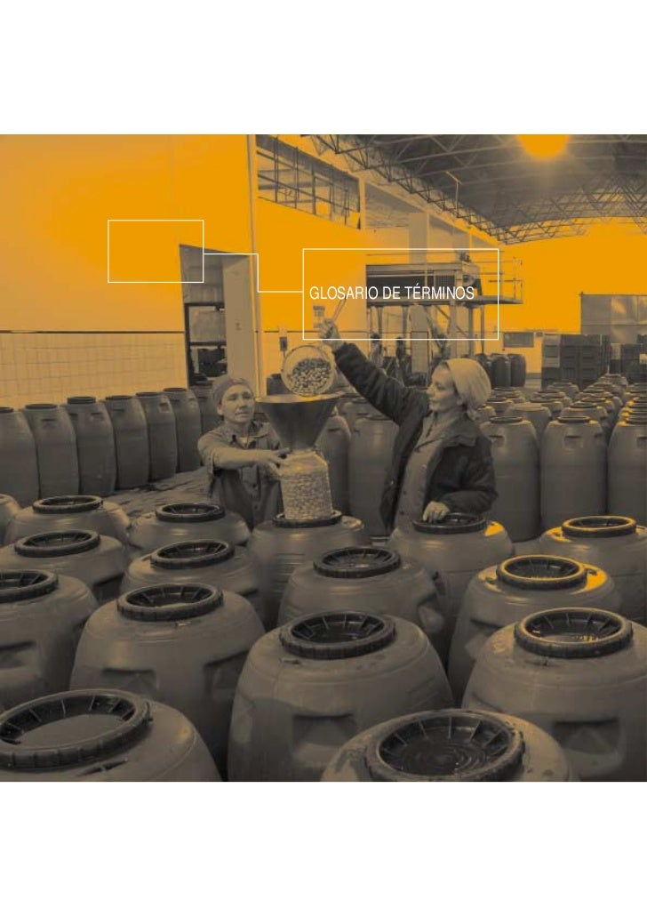 Guía VERSIÓN COMPLETA de aprendizaje FOMIN sobre proyectos de integración productiva y desarrollo económico territorial - Glosario