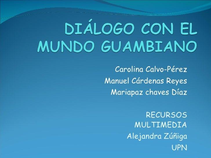 Glosario diálogo con el mundo guambiano