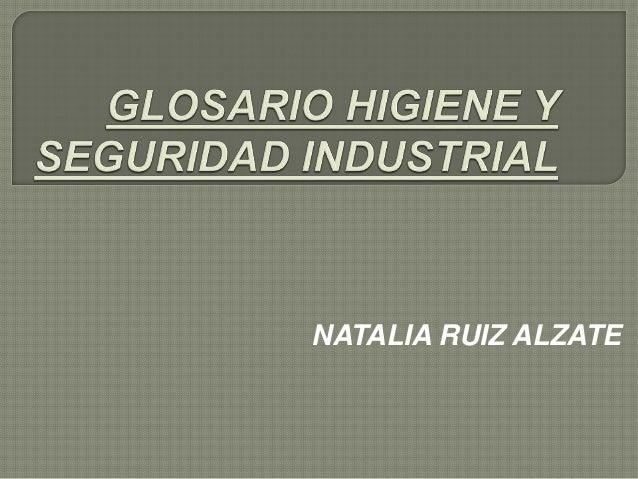 NATALIA RUIZ ALZATE