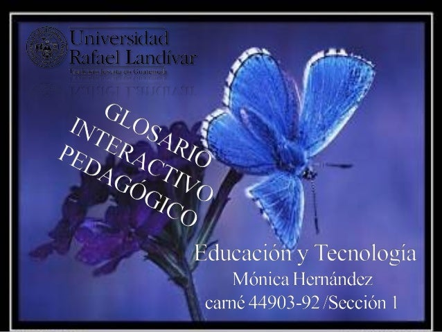GLOSARIOAVATAR               E-LEARNINGBANER                HIPERVINCULOBLOG                 EDUCACION VIRTUAL BOT        ...