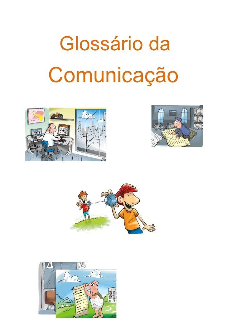 Glossário da Comunicação