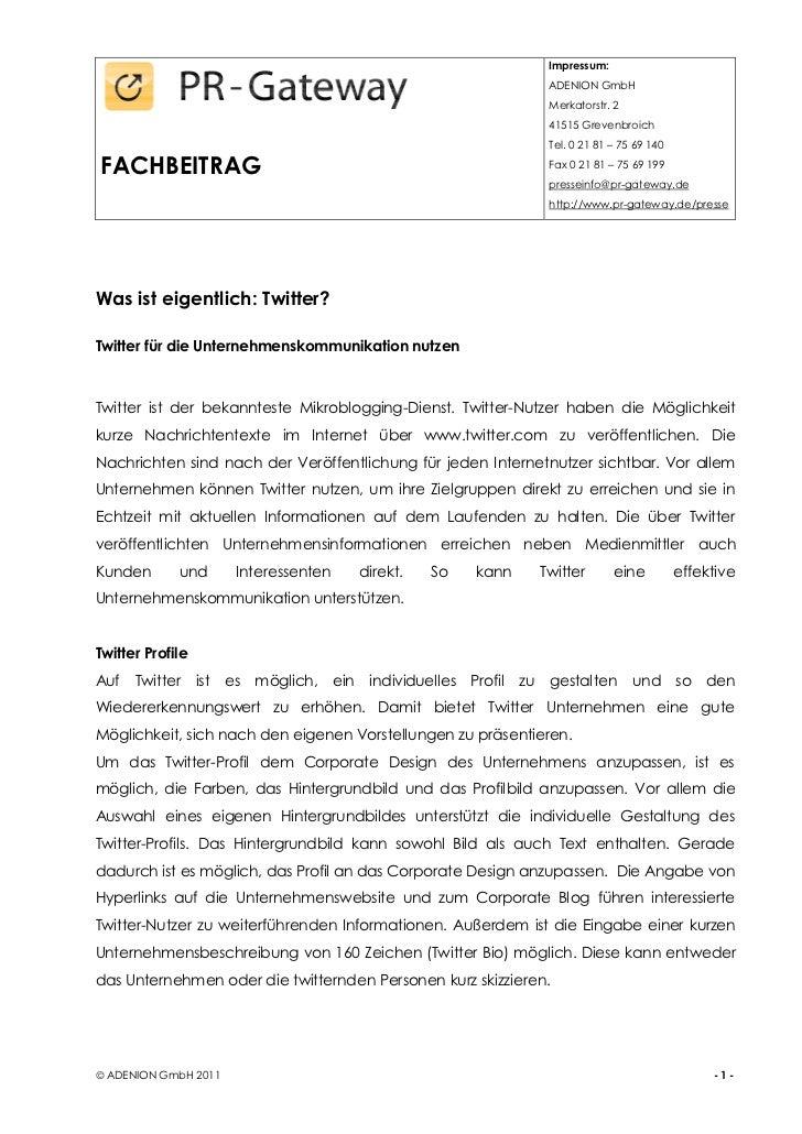 Was ist eigentlich: Twitter?